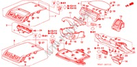 INSTRUMENT PANEL GARNISH (DRIVER SIDE) (RH) for Honda Cars ACCORD 2.2 EXECUTIVE 4 Doors 5 speed manual 2005