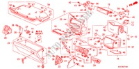 INSTRUMENT PANEL GARNISH (PASSENGER SIDE) (RH) for Honda Cars ACCORD 2.2 EXECUTIVE 4 Doors 5 speed manual 2005