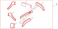 INT PANEL*YR252L* for Honda Cars ACCORD 2.2 EXECUTIVE 4 Doors 5 speed manual 2005