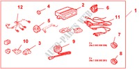 PARKING SENSOR for Honda Cars ACCORD 2.2 EXECUTIVE 4 Doors 5 speed manual 2005