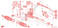 P.S. GEAR BOX (HPS) (RH) for Honda Cars ACCORD 2.2 EXECUTIVE 4 Doors 5 speed manual 2005
