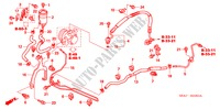 P.S. LINES (HPS) (DIESEL) (RH) for Honda Cars ACCORD 2.2 EXECUTIVE 4 Doors 5 speed manual 2005