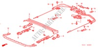 ROOF SLIDE COMPONENTS for Honda Cars ACCORD 2.2 EXECUTIVE 4 Doors 5 speed manual 2005