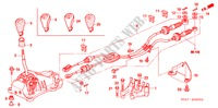 SHIFT LEVER (DIESEL) (RH) for Honda Cars ACCORD 2.2 EXECUTIVE 4 Doors 5 speed manual 2005