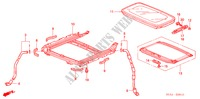 SLIDING ROOF for Honda Cars ACCORD 2.2 EXECUTIVE 4 Doors 5 speed manual 2005