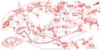 SRS UNIT (RH) for Honda Cars ACCORD 2.2 EXECUTIVE 4 Doors 5 speed manual 2005