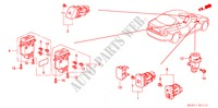 SWITCH (RH) for Honda Cars ACCORD 2.2 EXECUTIVE 4 Doors 5 speed manual 2005