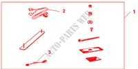 TEL CONSOLE RHD for Honda Cars ACCORD 2.2 EXECUTIVE 4 Doors 5 speed manual 2005