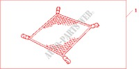 TIE DOWN NET for Honda Cars ACCORD 2.2 SPORT 4 Doors 5 speed manual 2004