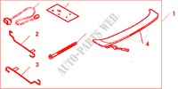 TRUNK SPOILER G 516P for Honda Cars ACCORD 2.2 SPORT 4 Doors 5 speed manual 2004