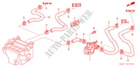 WATER VALVE (RH) for Honda Cars ACCORD 2.2 EXECUTIVE 4 Doors 5 speed manual 2005