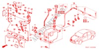 WINDSHIELD WASHER (HEADLIGHT WASHER) (2) for Honda Cars ACCORD 2.2 EXECUTIVE 4 Doors 5 speed manual 2005