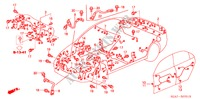 WIRE HARNESS (RH) for Honda Cars ACCORD 2.2 EXECUTIVE 4 Doors 5 speed manual 2005