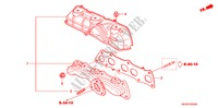 EXHAUST MANIFOLD (DIESEL) ENGINE ACCORD honda-cars 2008 2.2 EXECUTIVE E__3400