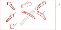 P/W SW PA*NH487L* for Honda Cars ACCORD TOURER 2.0 COMFORT 5 Doors 5 speed automatic 2003