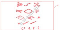 I-VES ATTACHMENT KIT GENUINE ACCESSORIES ACCORD TOURER honda-cars 2007 2.4 TYPE S 08B2301