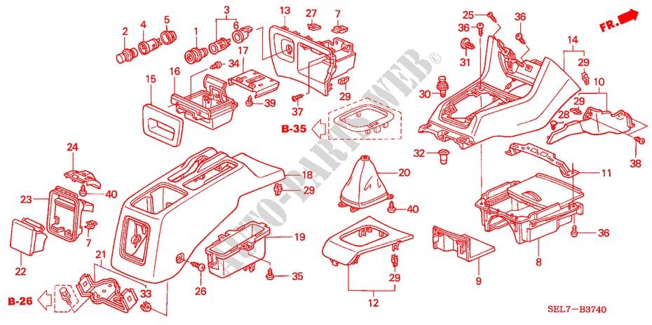 2000 GGBAILEY D4705A-S2B-GY-LP Custom Fit Automotive Carpet Floor Mats for 1998 1999 Passenger /& Rear 2001 2002 Honda Passport Grey Loop Driver