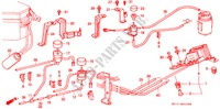 AIR JET CONTROL/TUBING ELECTRICAL EQUIPMENTS, EXHAUST, HEATER PRELUDE honda-cars 1988 2.0I-16 B__0103