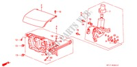 HEADLIGHT RETRACTABLE ELECTRICAL EQUIPMENTS, EXHAUST, HEATER PRELUDE honda-cars 1988 2.0I-16 B__0801