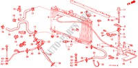 RADIATOR HOSE ELECTRICAL EQUIPMENTS, EXHAUST, HEATER PRELUDE honda-cars 1988 2.0I-16 B__0500
