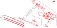 REAR WIPER ELECTRICAL EQUIPMENTS, EXHAUST, HEATER PRELUDE honda-cars 1988 2.0I-16 B__1402