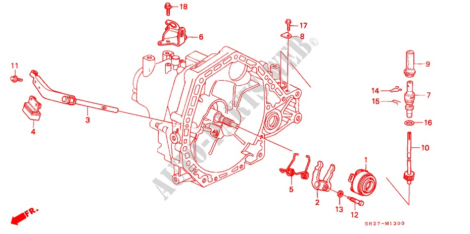 1995 Honda Civic Transmission Diagram Electrical Wiring Diagrams
