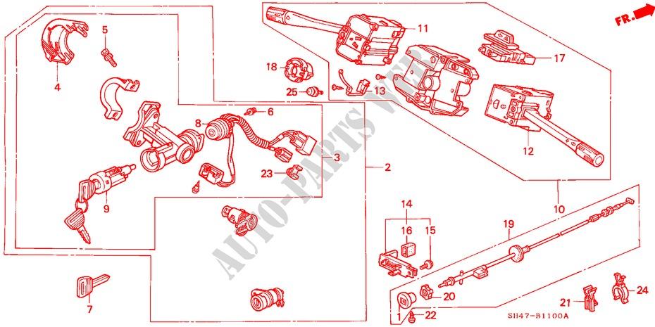 1991 honda civic wiring diagram