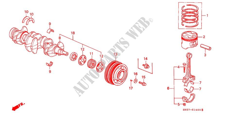 Genuine Toyota 16712-28090 Fan Shroud