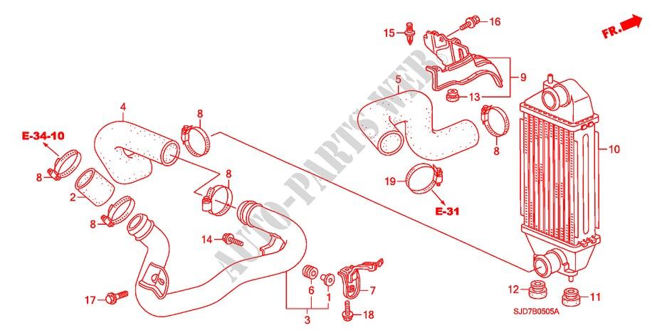 intercooler diesel electrical equipments exhaust heater 22
