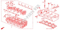 CYLINDER HEAD (SOHC) for Honda Cars CONCERTO 1.6I 5 Doors 4 speed automatic 1990