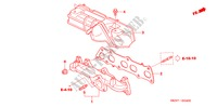 EXHAUST MANIFOLD for Honda Cars CR-V DIESEL SE 5 Doors 6 speed manual 2005
