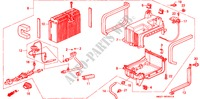 AIR CONDITIONER (UNIT) (RH) BODY PARTS ACCORD COUPE honda-cars 1993 2.0I B__5901