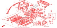 BODY STRUCTURE COMPONENTS (INNER PANEL) BODY PARTS ACCORD COUPE honda-cars 1993 2.0I B__4910
