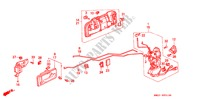 FRONT DOOR LOCKS BODY PARTS ACCORD COUPE honda-cars 1993 2.0I B__5310