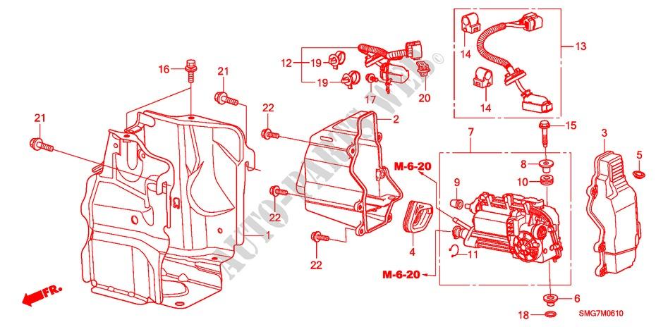 clutch actuator (i shift) for honda cars civic 1 4 base 5 doors 07 Honda Civic