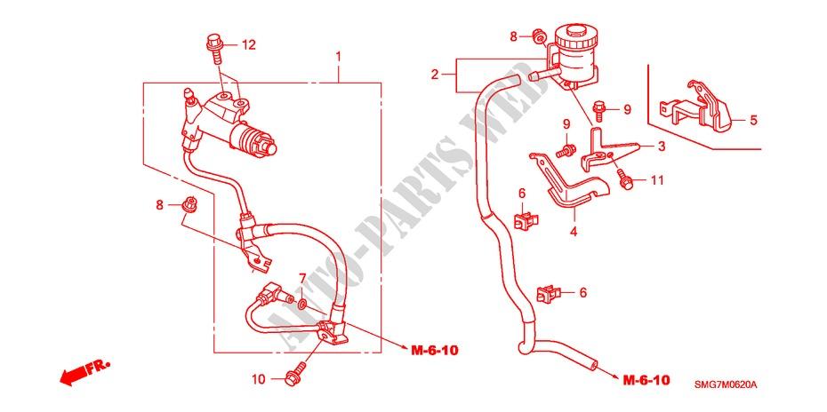 Clutch Pipe  I Shift  For Honda Cars Civic 1 8 Ex 5 Doors