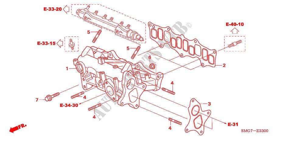 intake manifold (diesel) for honda cars civic 2 2 comfort dpf 5 Honda Electrical Schematic
