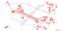 REAR LOWER ARM for Honda Cars CIVIC 1.8GT 5 Doors 5 speed automatic 2011