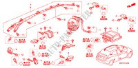 SRS UNIT (LH) ELECTRICAL EQUIPMENTS, EXHAUST, HEATER CIVIC honda-cars 2007 2.0 TYPE R B__1340