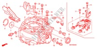 TRANSMISSION CASE (1.4L) (1.8L) TRANSMISSION CIVIC honda-cars 2008 1.8 TYPE S M__0200