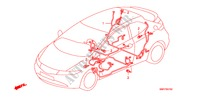 WIRE HARNESS (LH)(2) ELECTRICAL EQUIPMENTS, EXHAUST, HEATER CIVIC honda-cars 2007 2.0 TYPE R B__0702