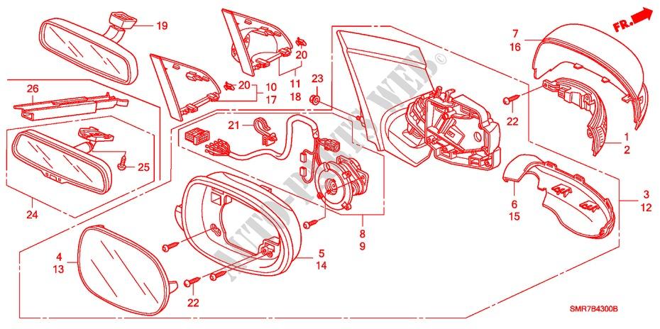 Honda Civic 2007 Parts Diagram