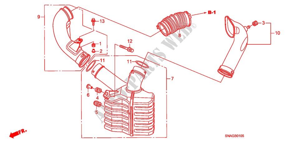 Resonator Chamber Electrical Equipments Exhaust Heater 18 Exi 2011 Rhpartshondauk: Resonator Exhaust Schematic At Gmaili.net