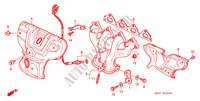 EXHAUST MANIFOLD (SOHC) for Honda Cars CIVIC CRX ESI 2 Doors 5 speed manual 1996