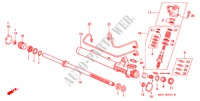 P.S. GEAR BOX COMPONENTS (LH)('96 ) for Honda Cars CIVIC CRX VTI 2 Doors 5 speed manual 1996