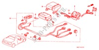 SRS UNIT (RH) for Honda Cars CIVIC CRX ESI 2 Doors 4 speed automatic 1996