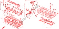 CYLINDER HEAD (SOHC VTEC) ENGINE CIVIC honda-cars 1992 ESI E__1001