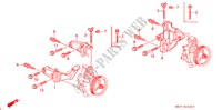 P.S. PUMP BRACKET ENGINE CIVIC honda-cars 1992 ESI E__1910