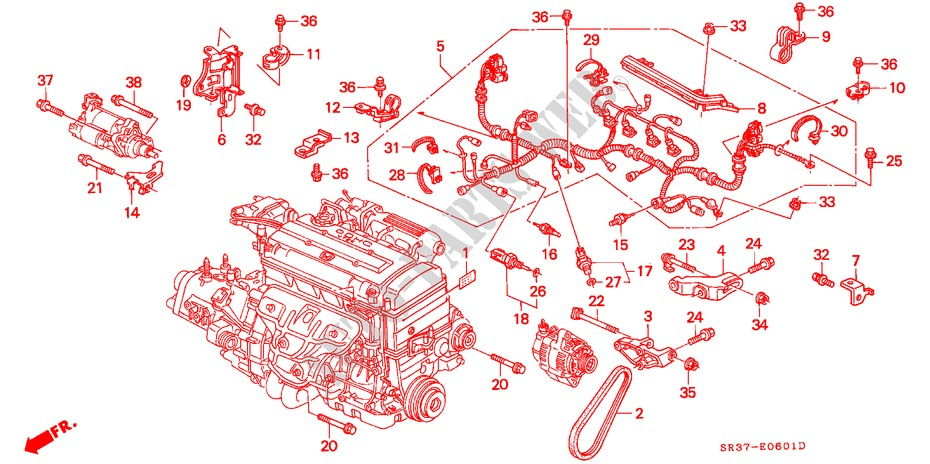 Speed Control Wiring Diagram On Honda Cb750 Dohc Engine Schematic
