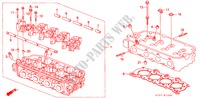 CYLINDER HEAD (SOHC) ('95/'96) for Honda Cars CIVIC 1.6ILS 5 Doors 5 speed manual 1995